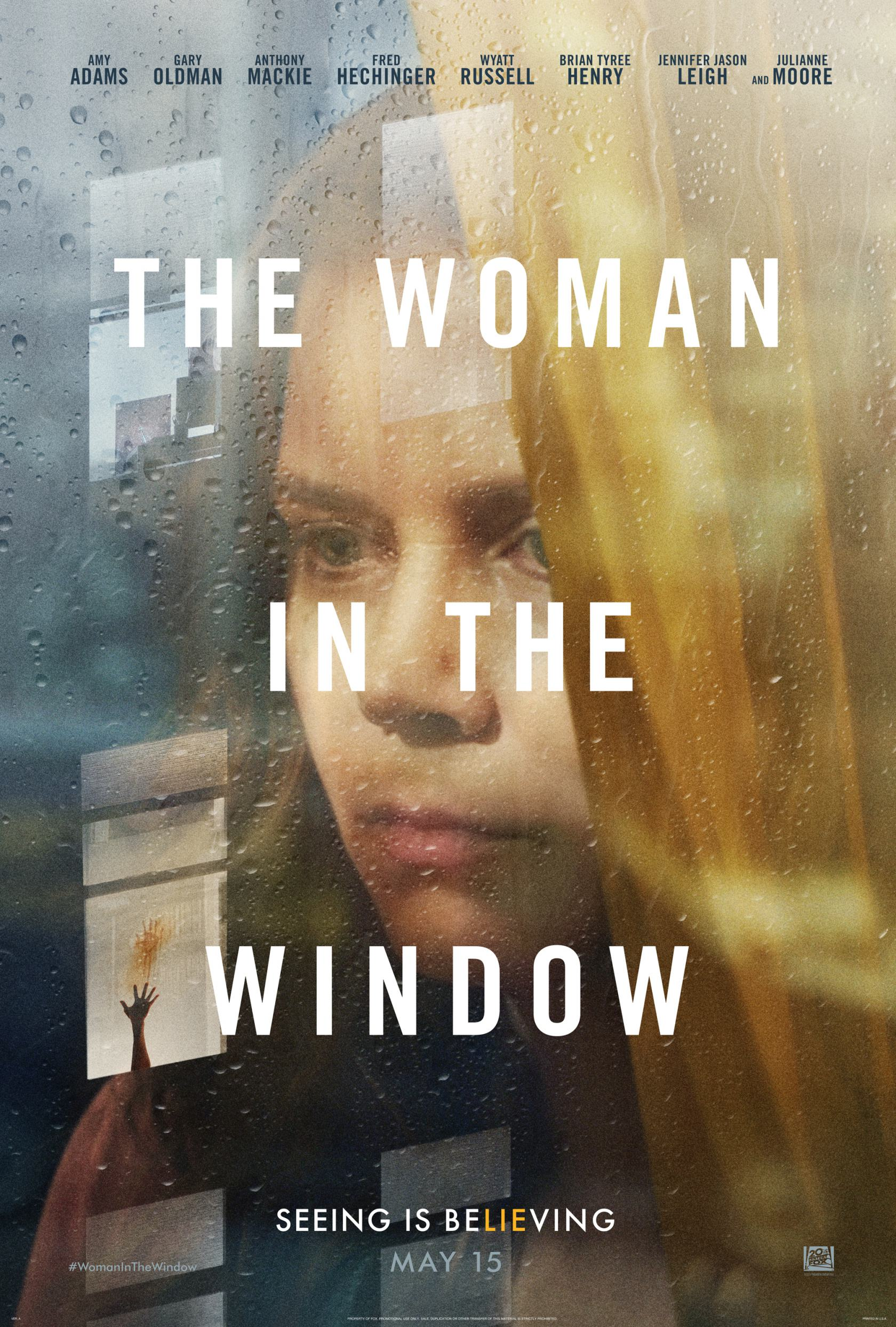 The Woman in the Window Poster #1