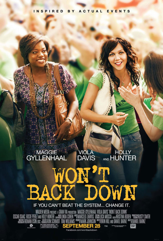Won't Back Down Poster #1