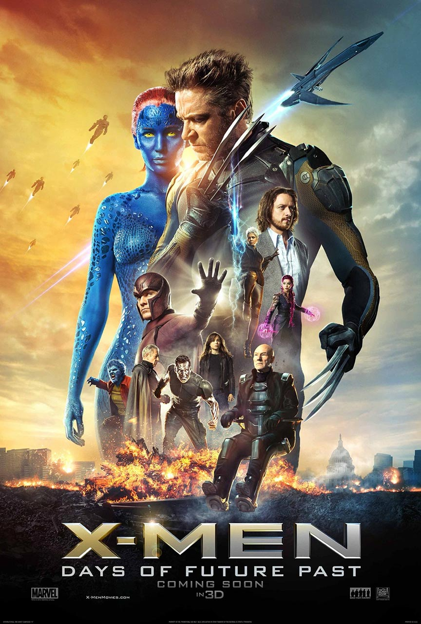 X-Men: Days of Future Past Poster #4