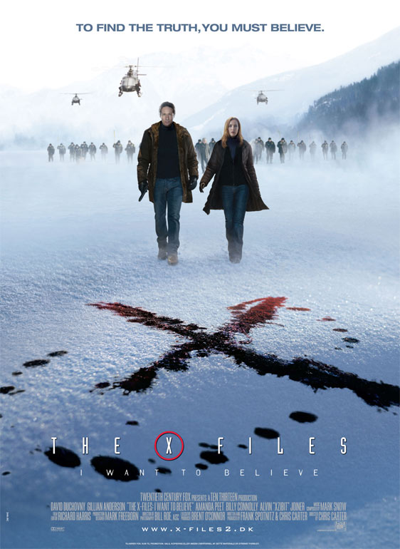 The X-Files: I Want to Believe Poster #3