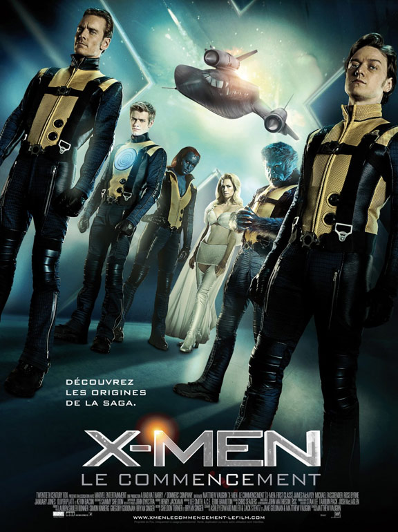 X-Men: First Class Poster #7