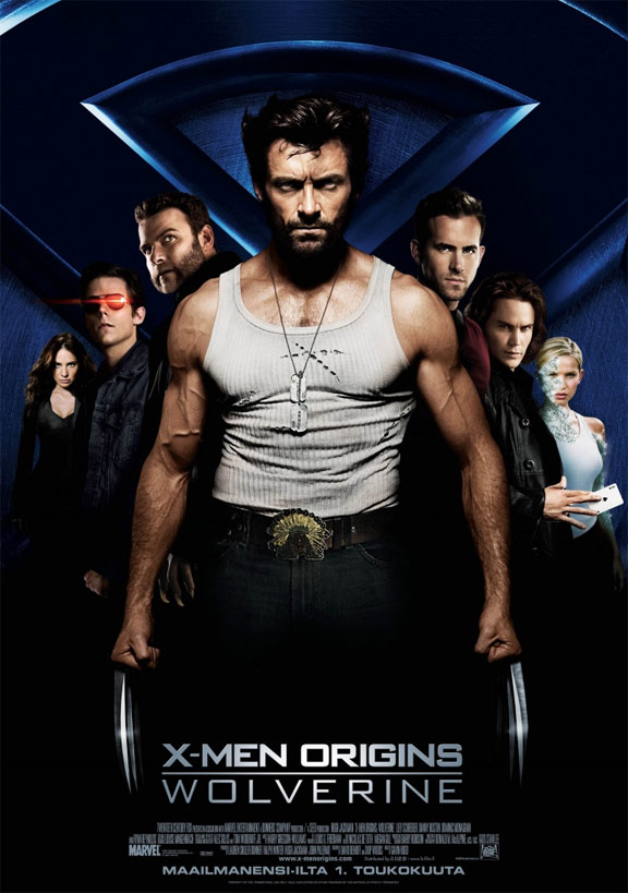 X-Men Origins: Wolverine Poster #3
