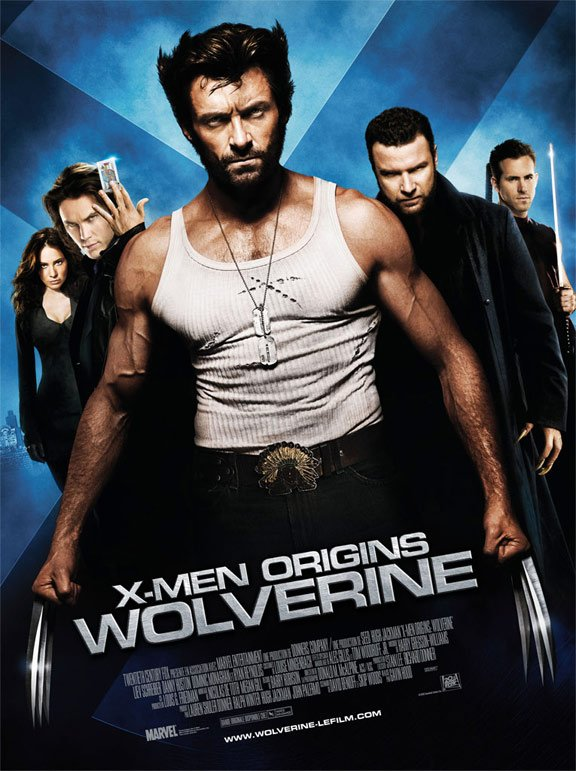 X-Men Origins: Wolverine Poster #4