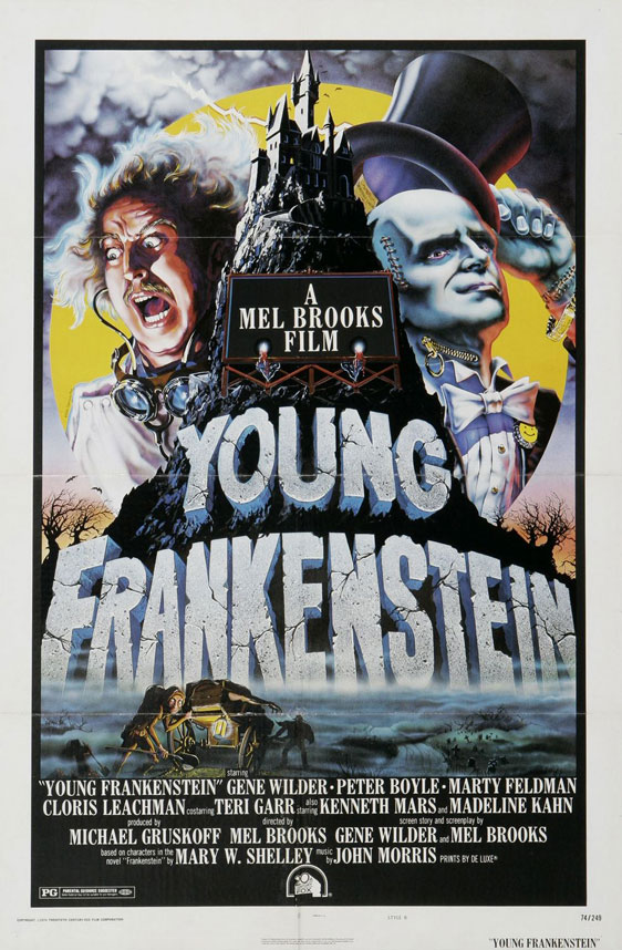 Young Frankenstein Poster #1