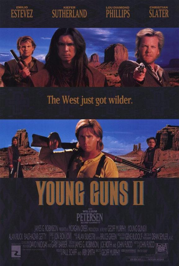 Young Guns II Poster #1