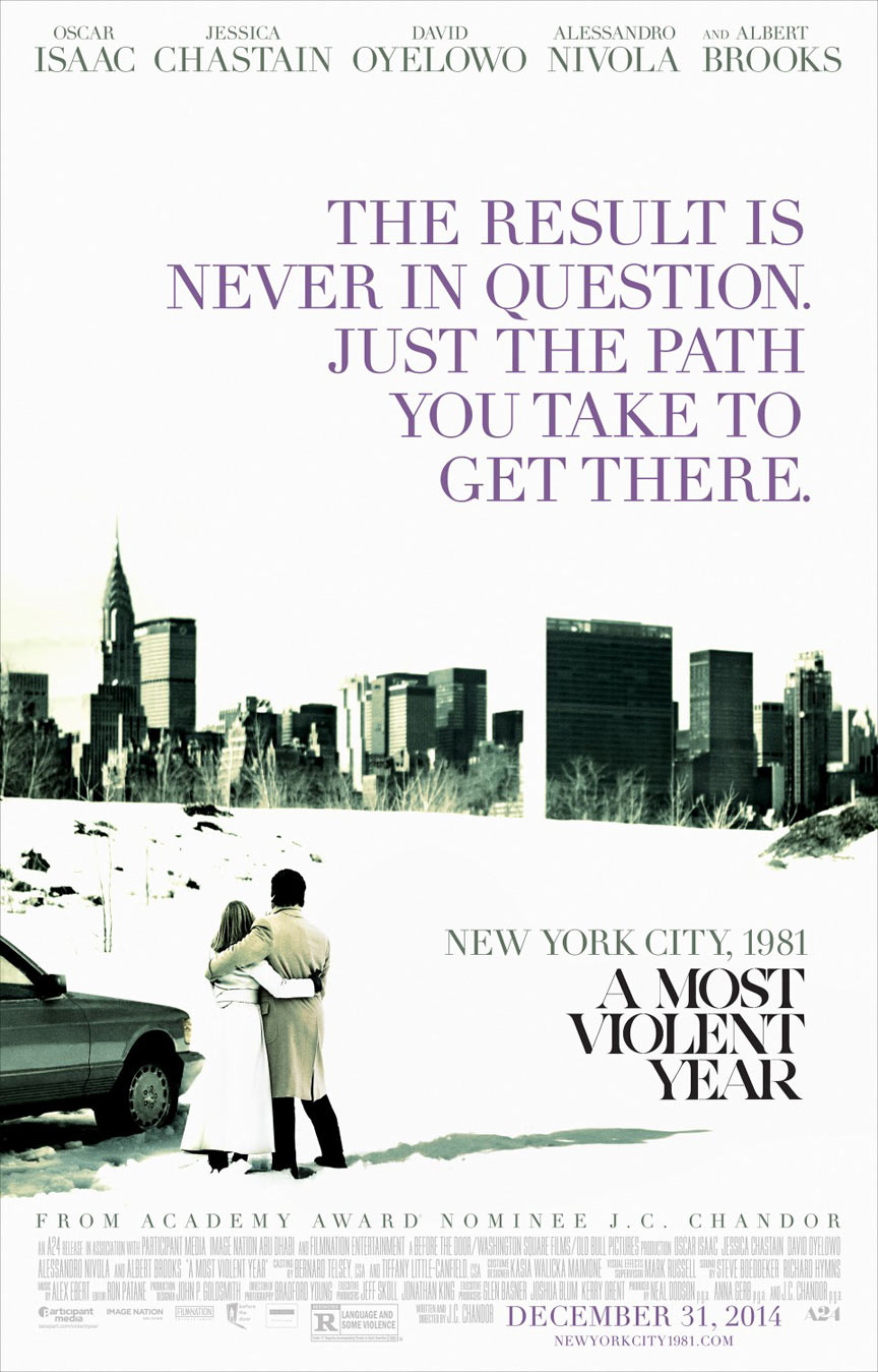 A Most Violent Year Poster #2
