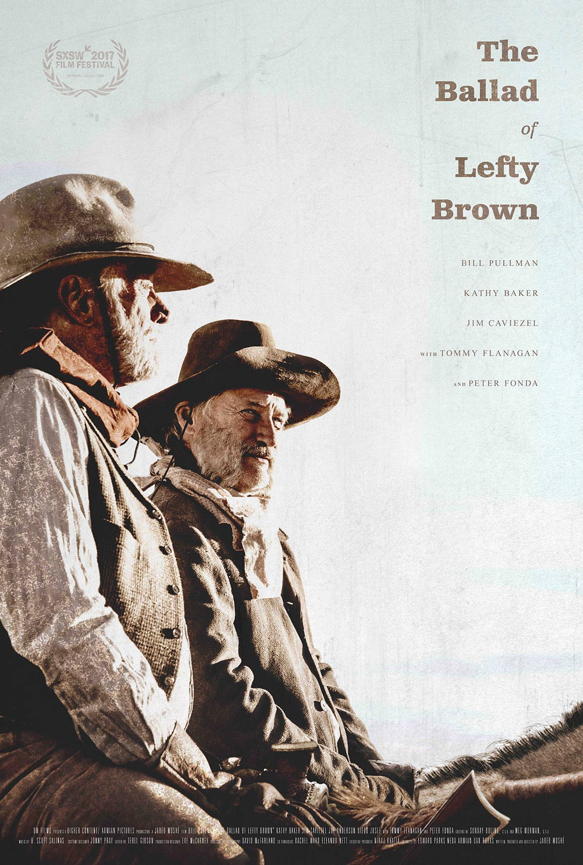 The Ballad of Lefty Brown Poster #1