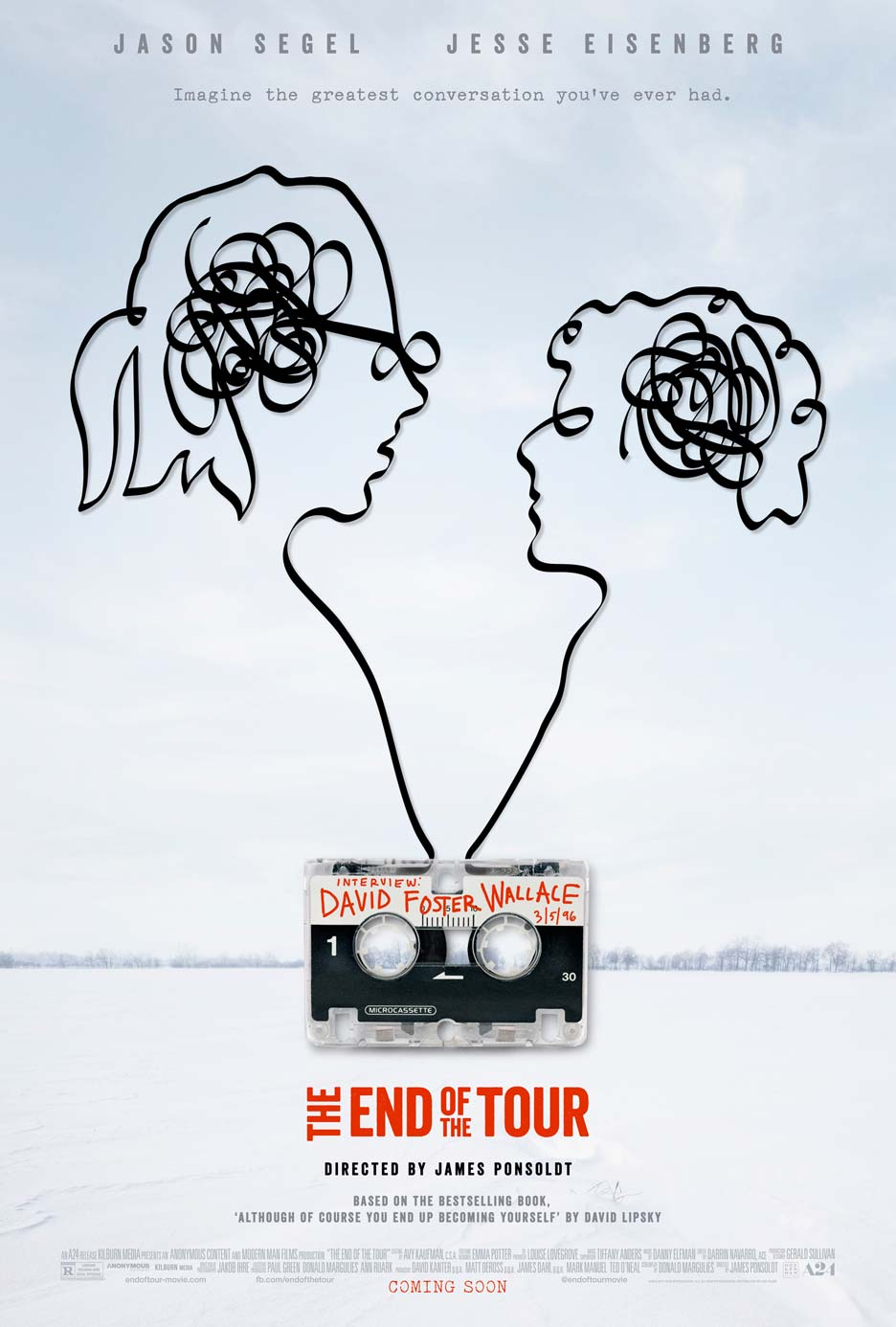 The End of the Tour Poster #1