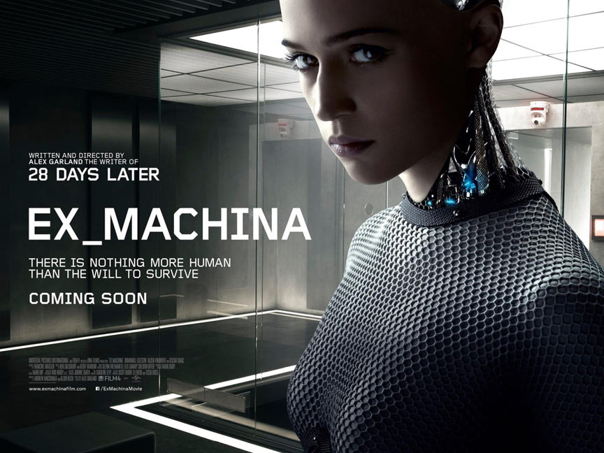 Ex Machina Poster #2