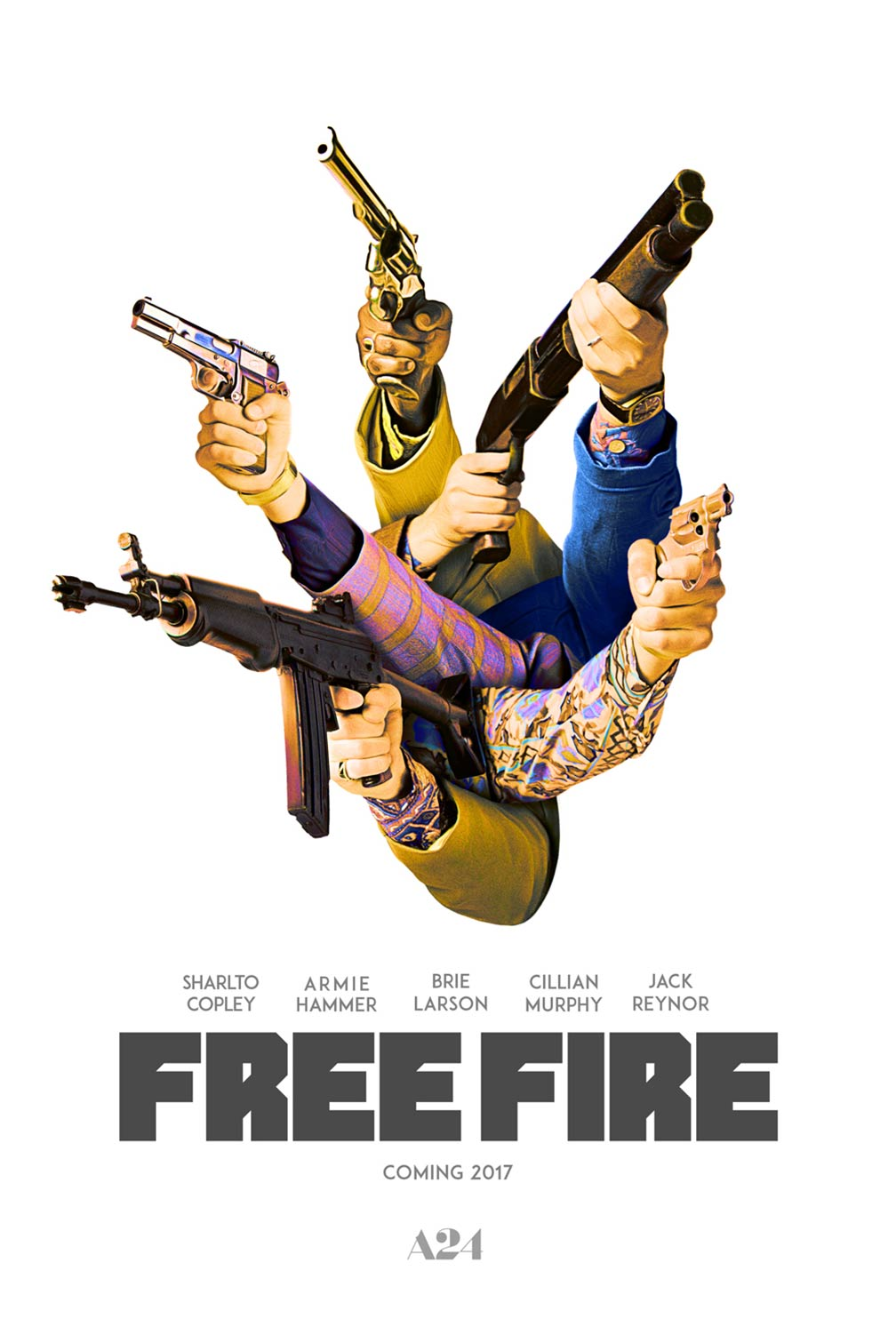 Free Fire Poster #1