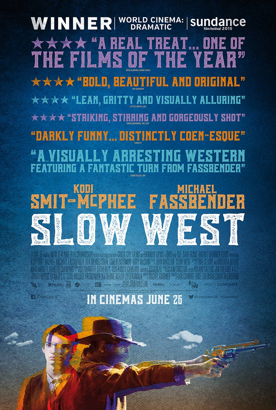 Slow West Poster #3