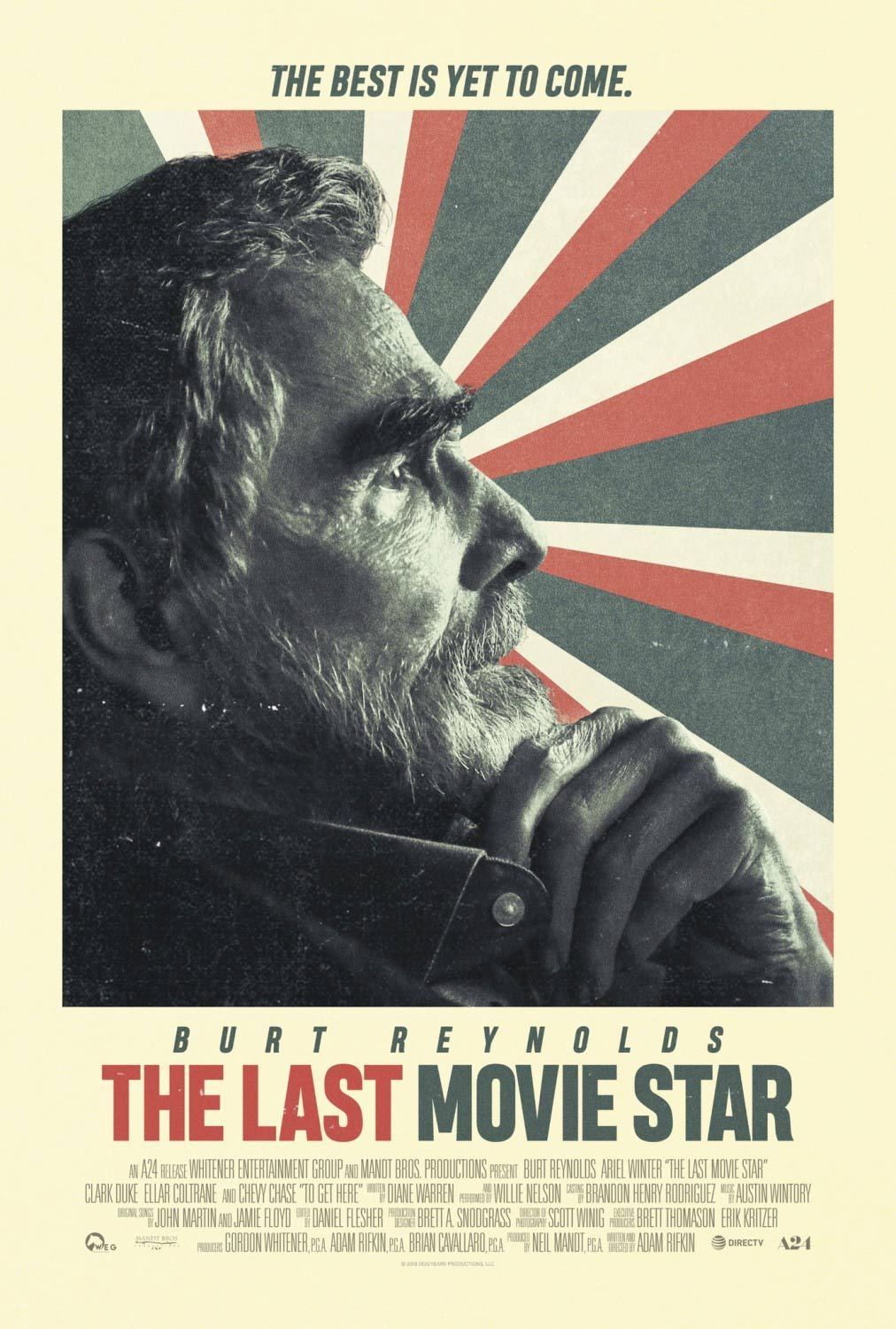 The Last Movie Star Poster #1