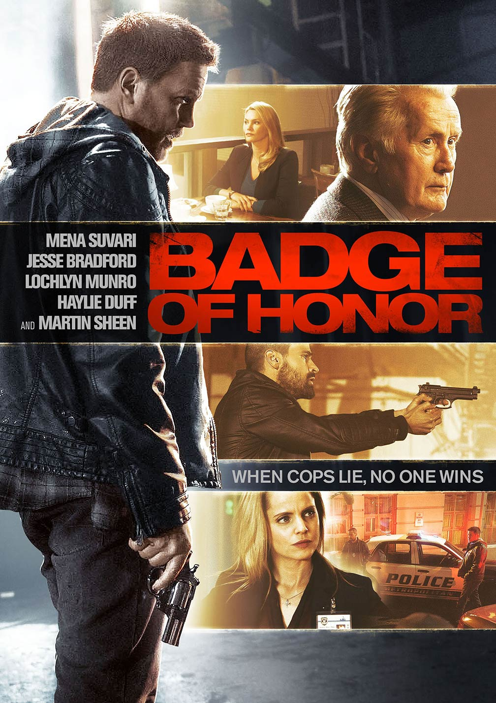 Badge of Honor Poster #1