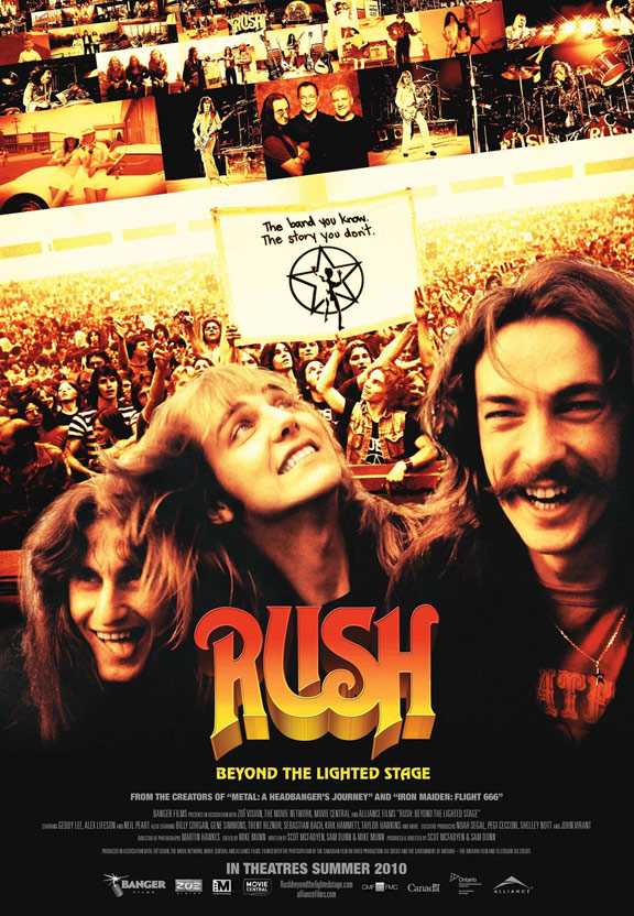 Rush: Beyond The Lighted Stage Poster #1