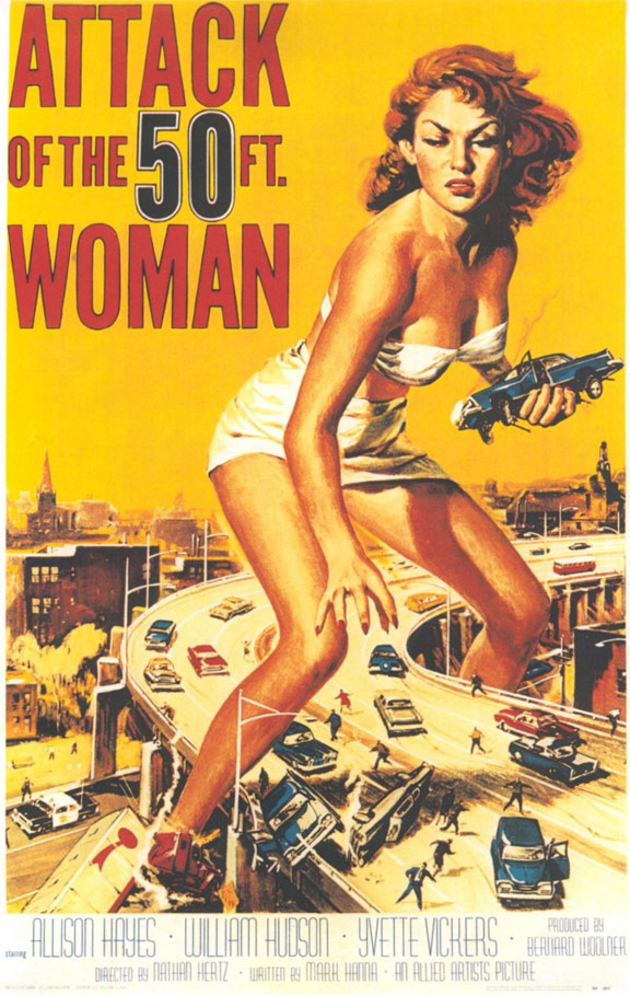 Attack of the 50 Foot Woman Poster #1