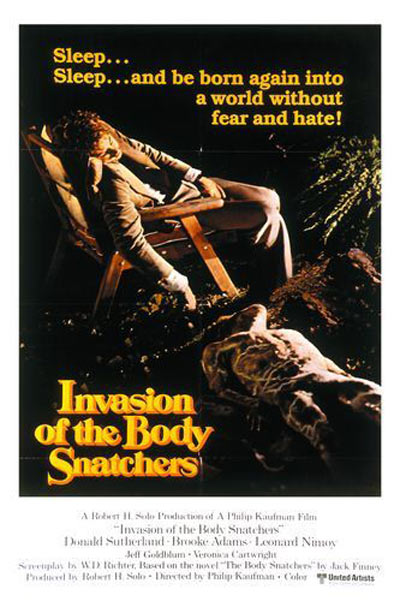 Invasion of the Body Snatchers Poster #3