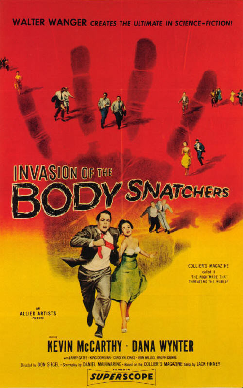 Invasion of the Body Snatchers Poster #1