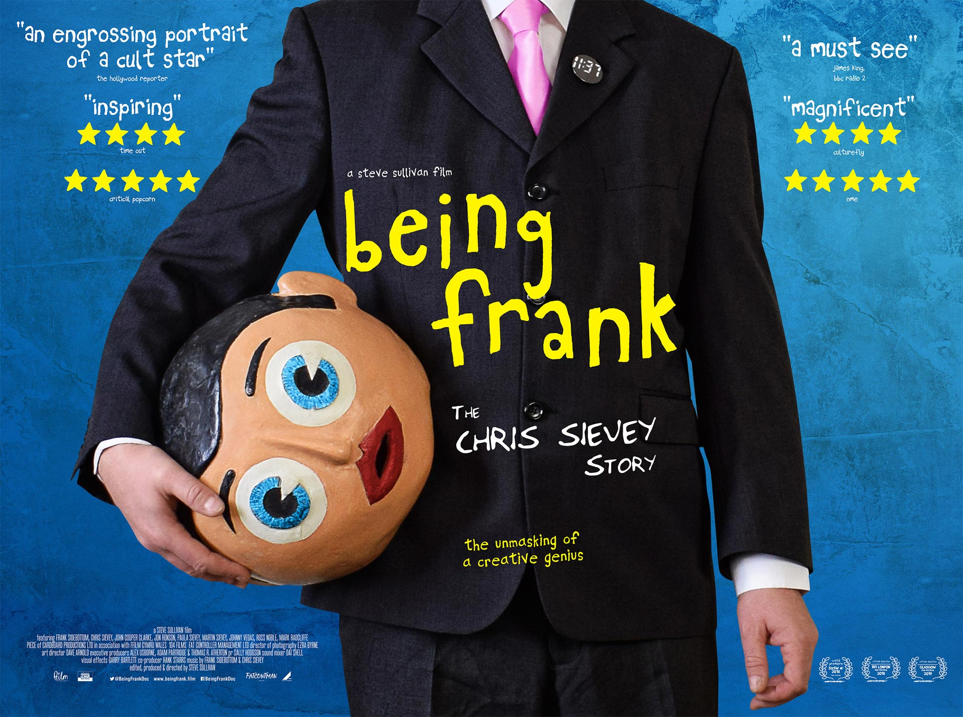 Being Frank: The Chris Sievey Story Poster #1