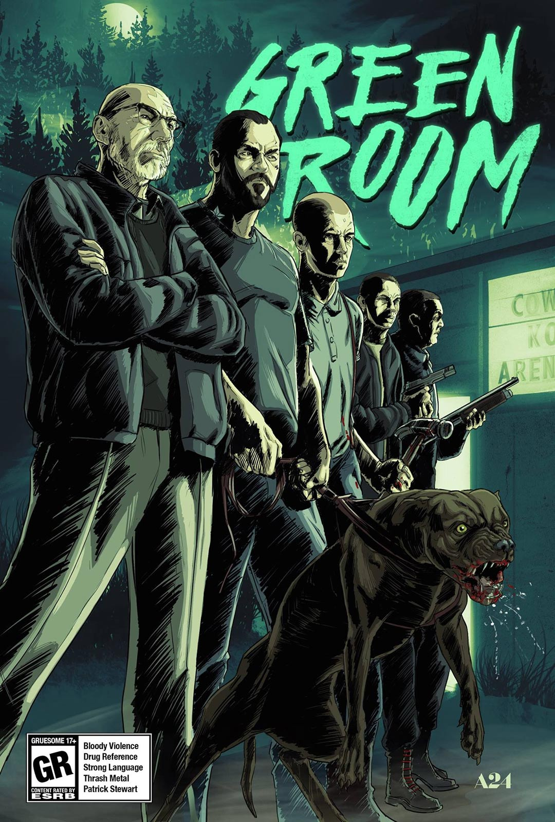Green Room Poster #3
