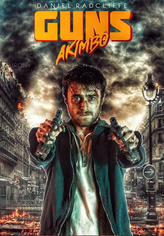 Guns Akimbo Poster #1