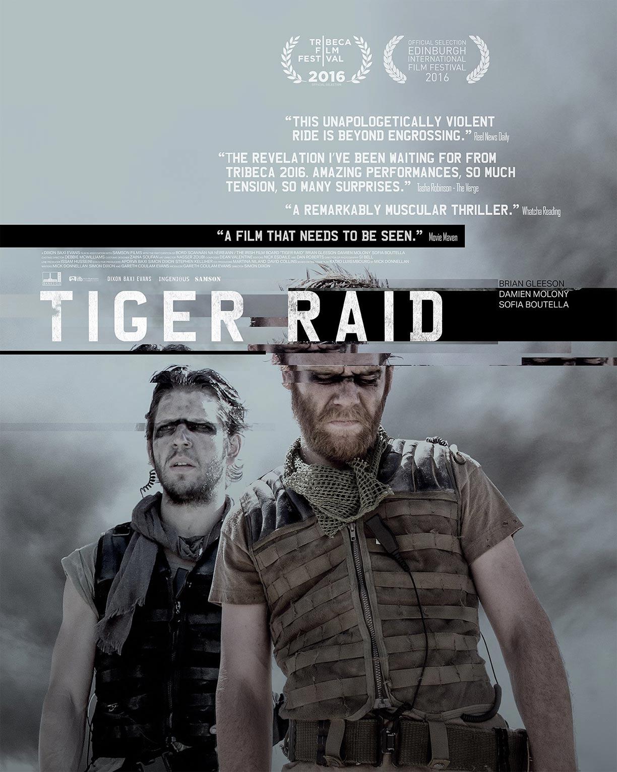 Tiger Raid Poster #1