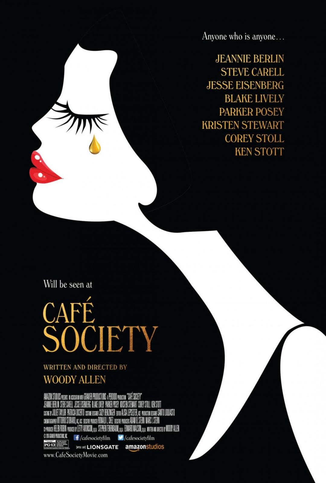 Café Society Poster #1