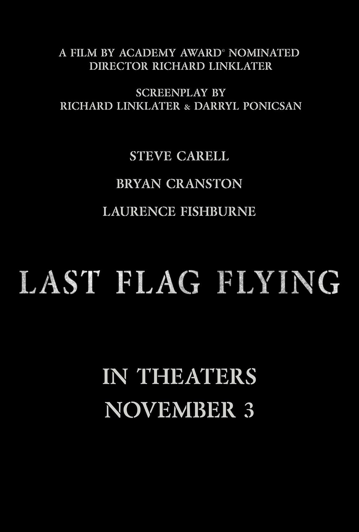 Last Flag Flying Poster #1