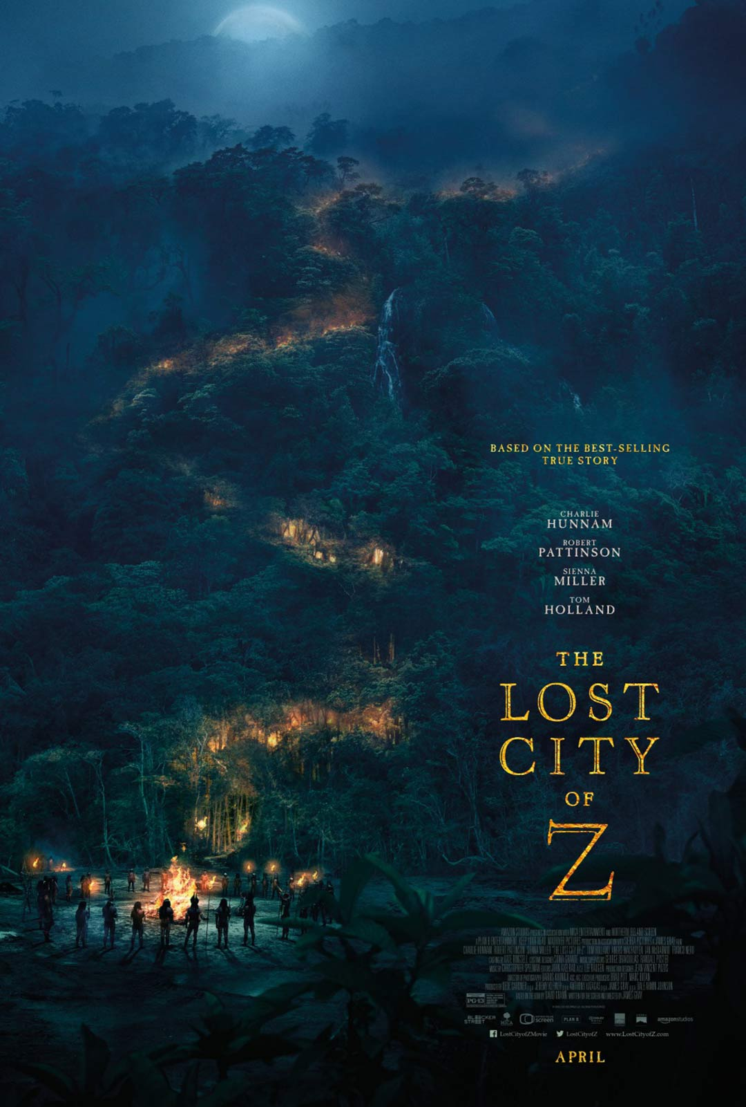 The Lost City of Z Poster #2