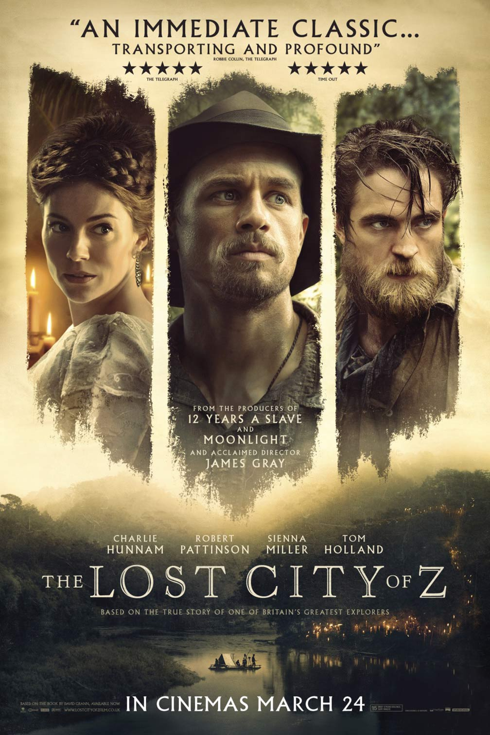 The Lost City of Z Poster #4