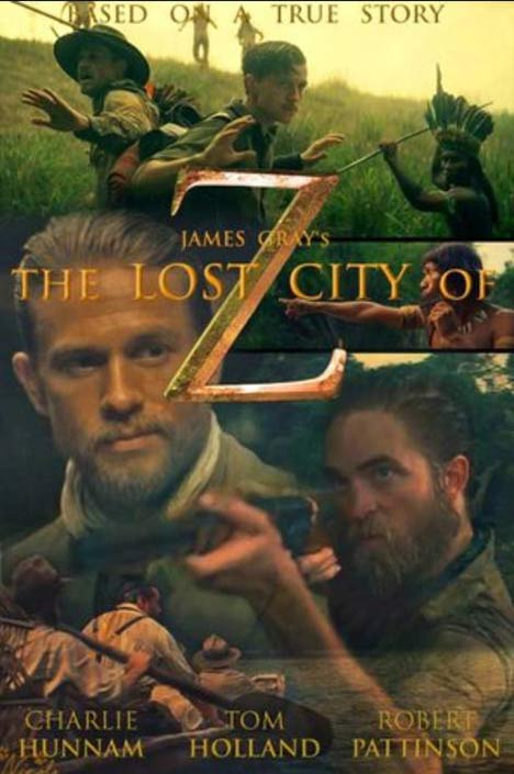 The Lost City of Z Poster #1