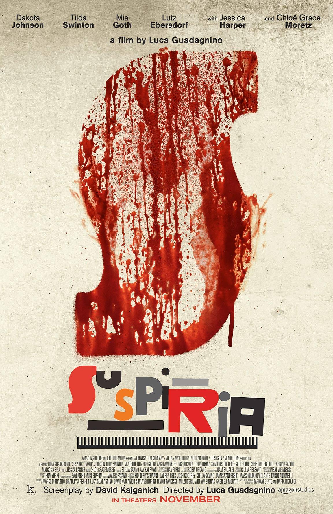 Suspiria Poster #1