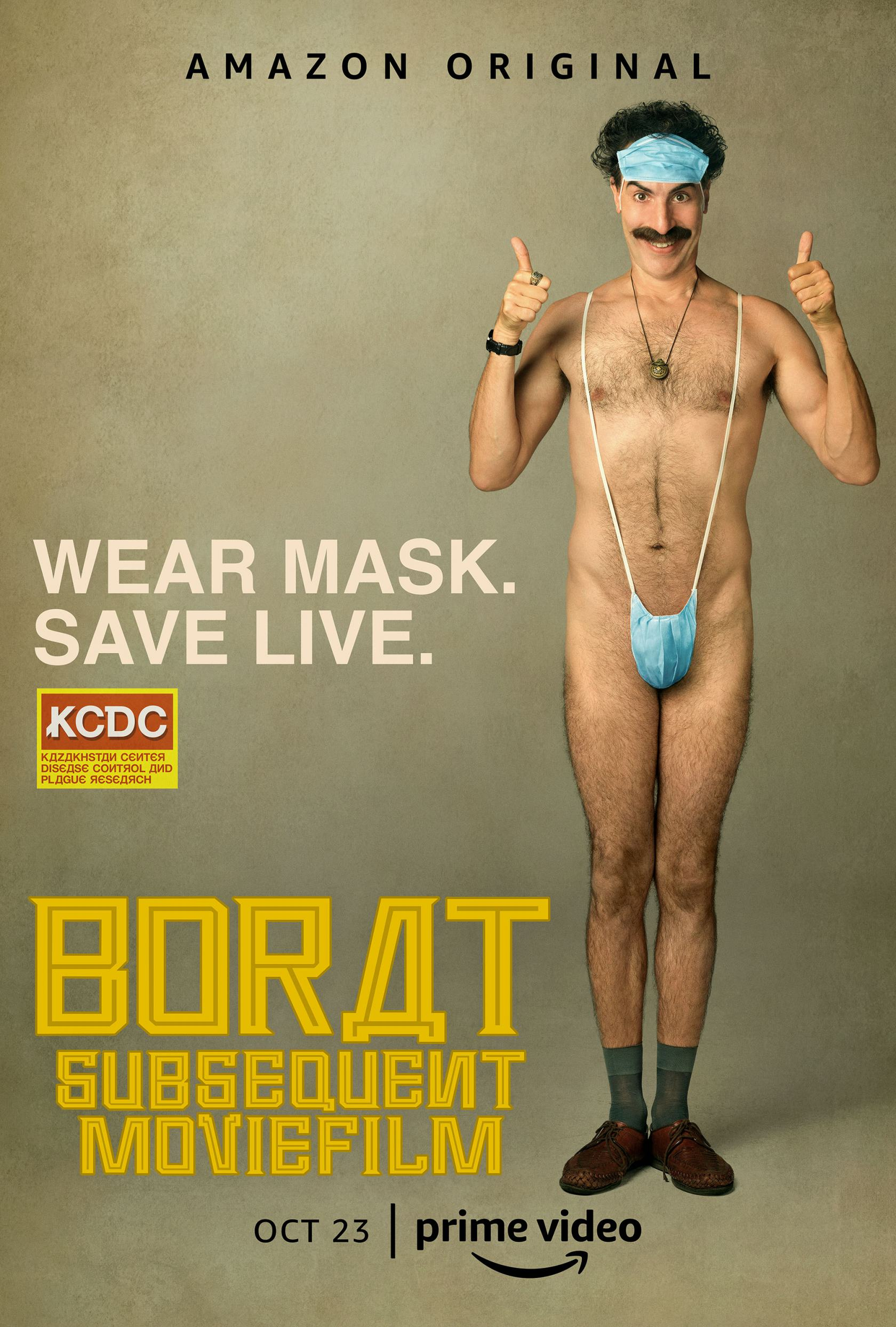 Borat Subsequent Moviefilm Poster #1