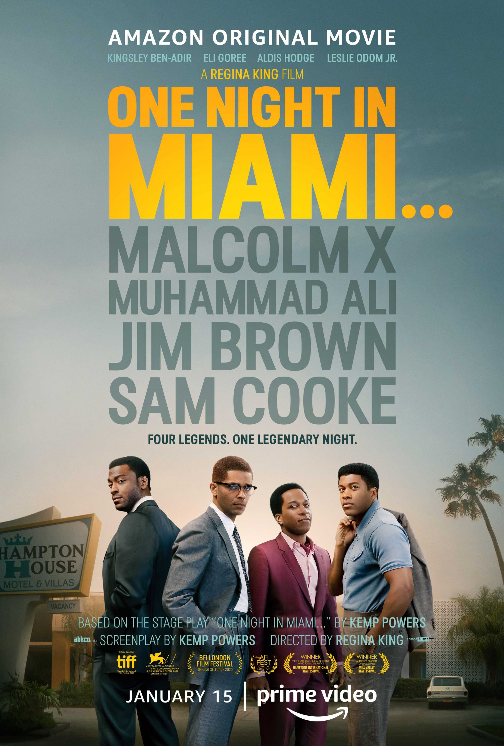 One Night in Miami Poster #1