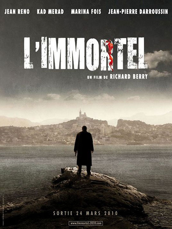 22 Bullets (L'immortel) Poster #2