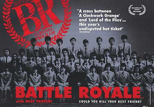 Battle Royale Poster #1