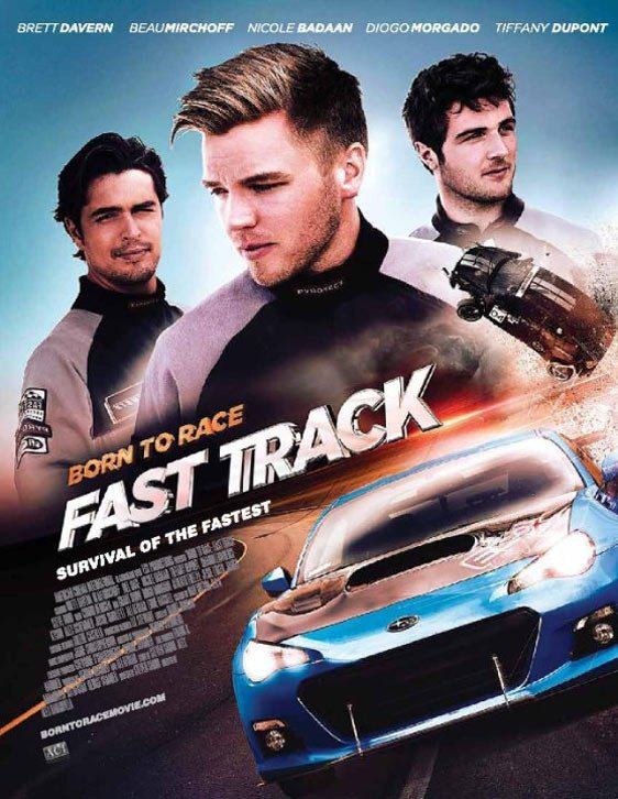 Born to Race: Fast Track Poster #1