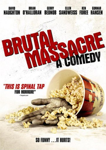 Brutal Massacre: A Comedy Poster #1