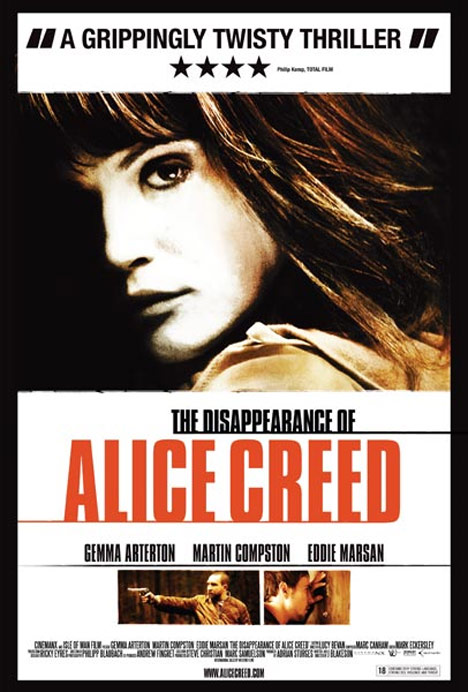 The Disappearance of Alice Creed Poster #2