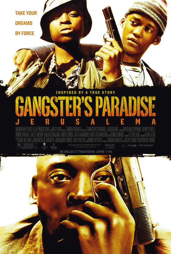 Gangster's Paradise: Jerusalema Poster #1