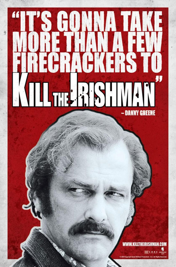 Kill the Irishman Poster #2