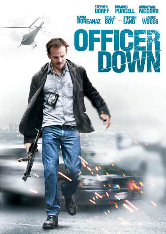Officer Down Poster #1