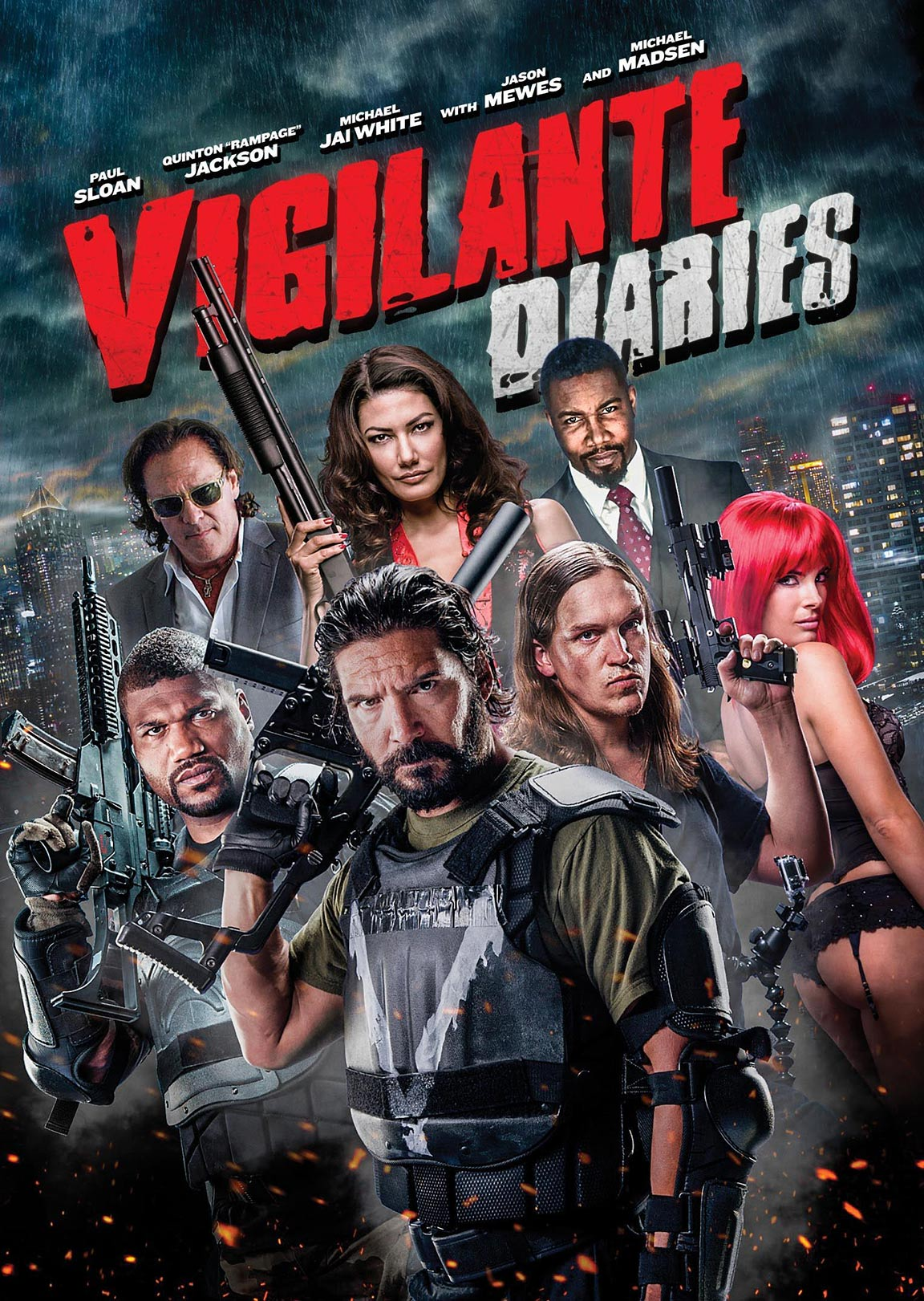 Vigilante Diaries Poster #2