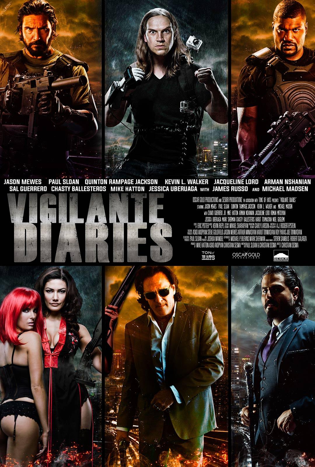 Vigilante Diaries Poster #1