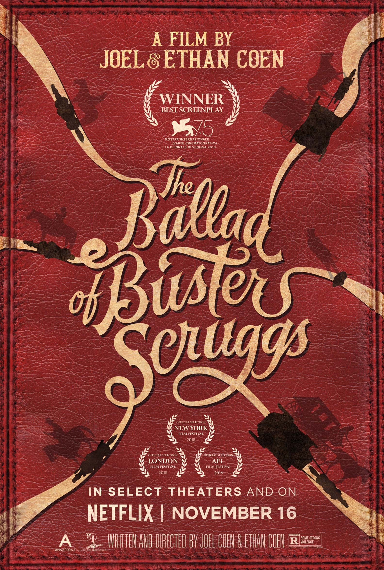 The Ballad of Buster Scruggs Poster #2