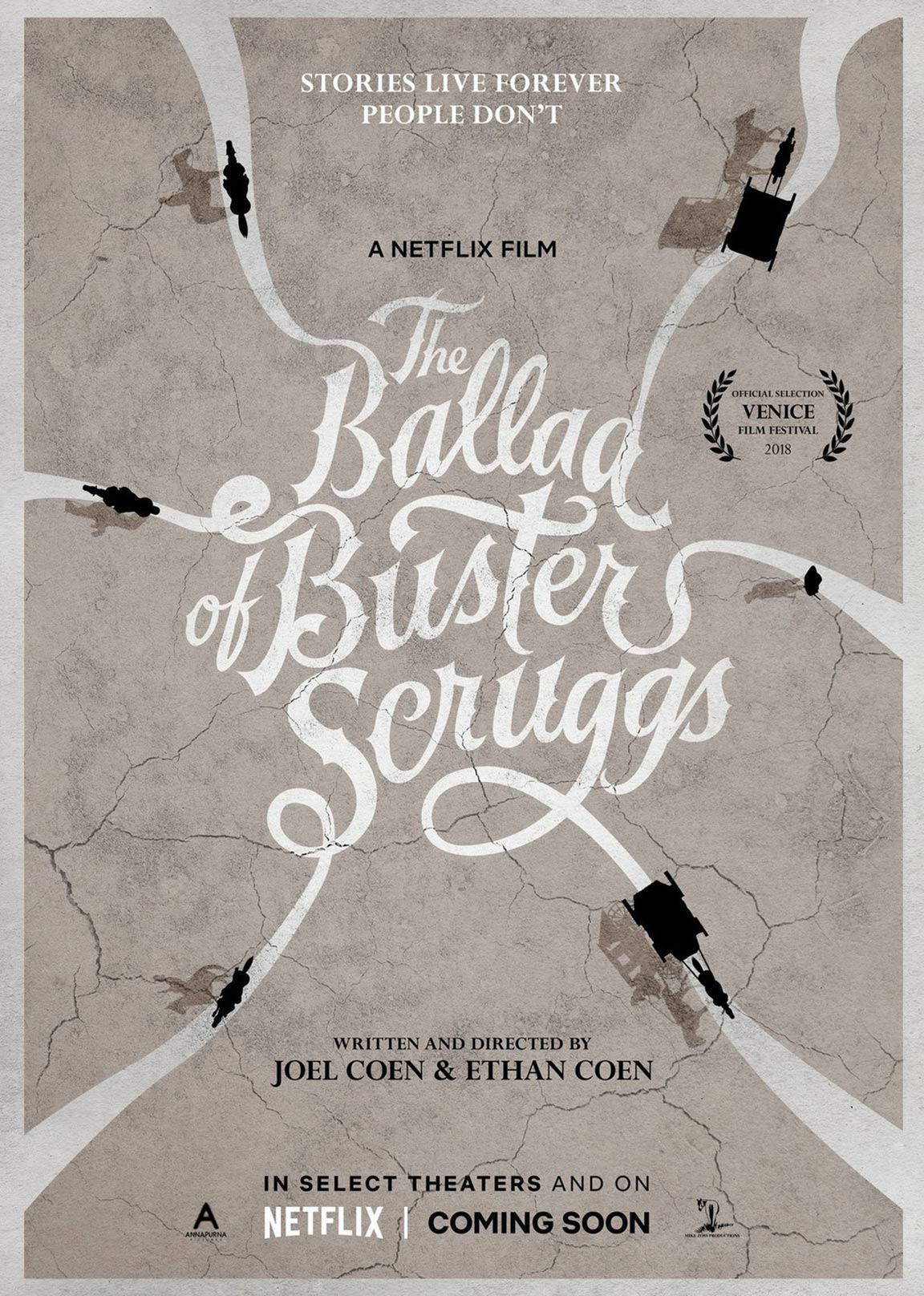 The Ballad of Buster Scruggs Poster #1