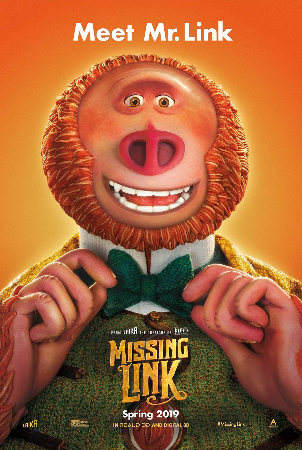 Missing Link Poster #1
