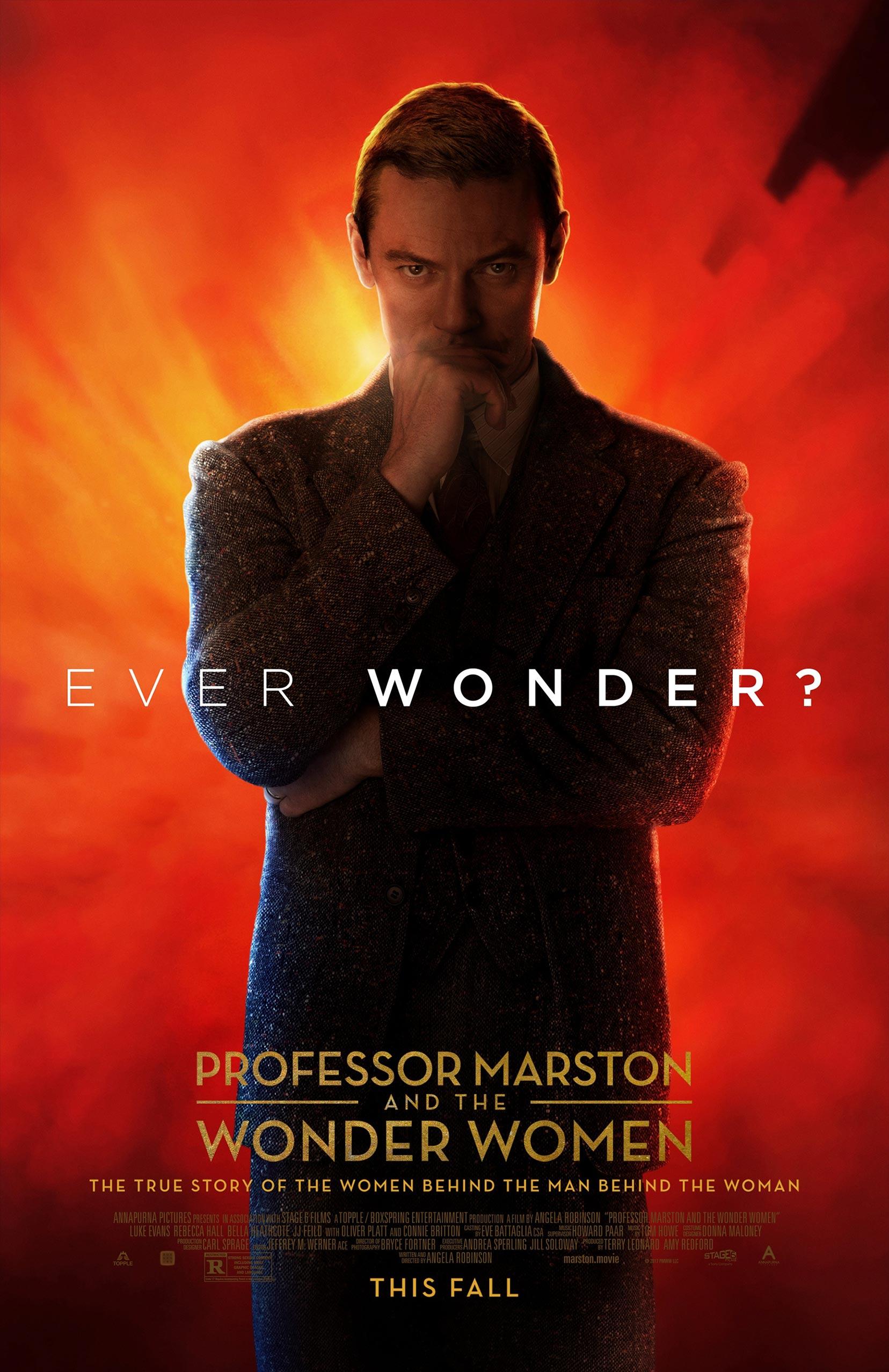 Professor Marston & the Wonder Women Poster #2
