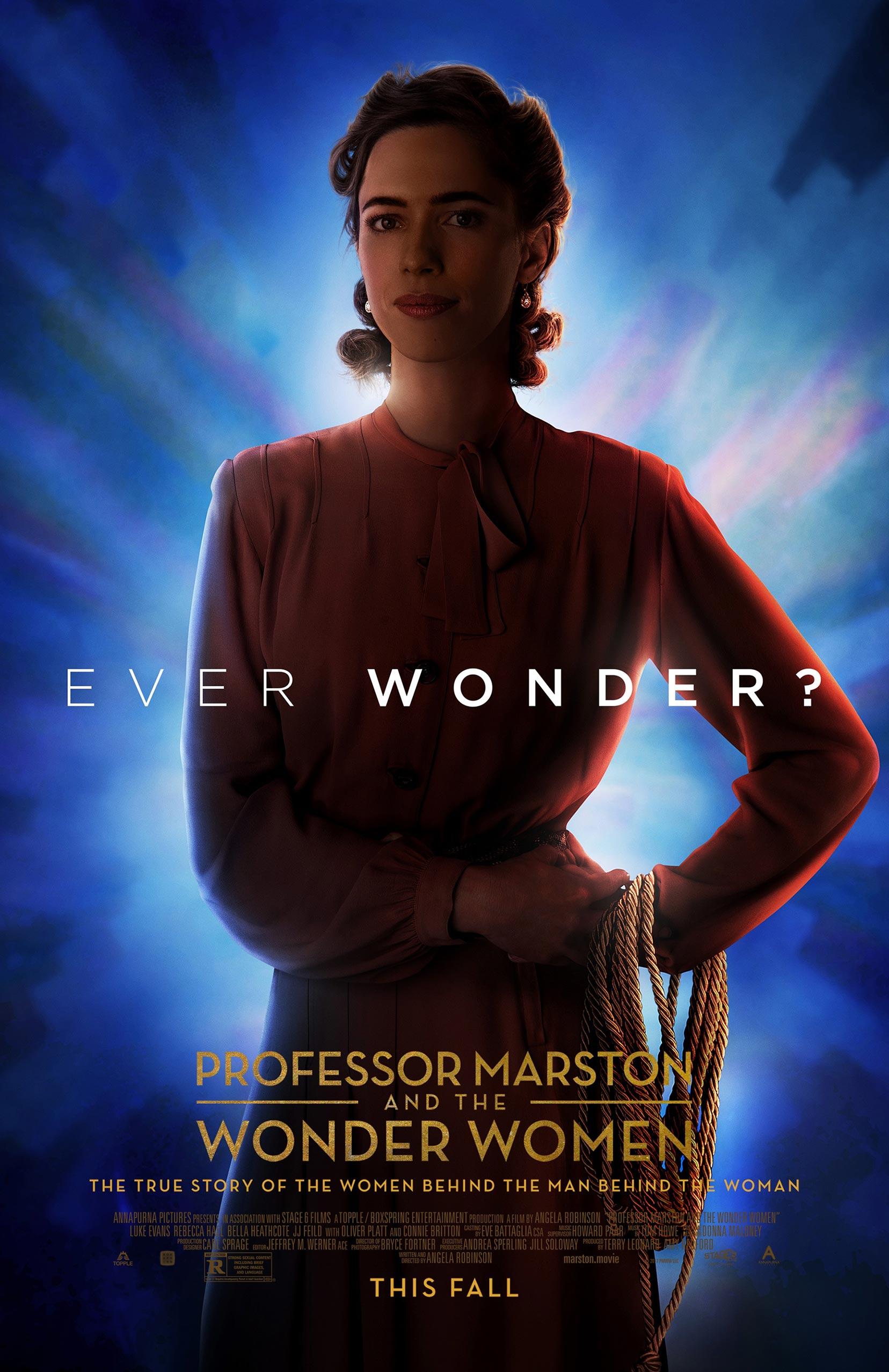 Professor Marston & the Wonder Women Poster #3