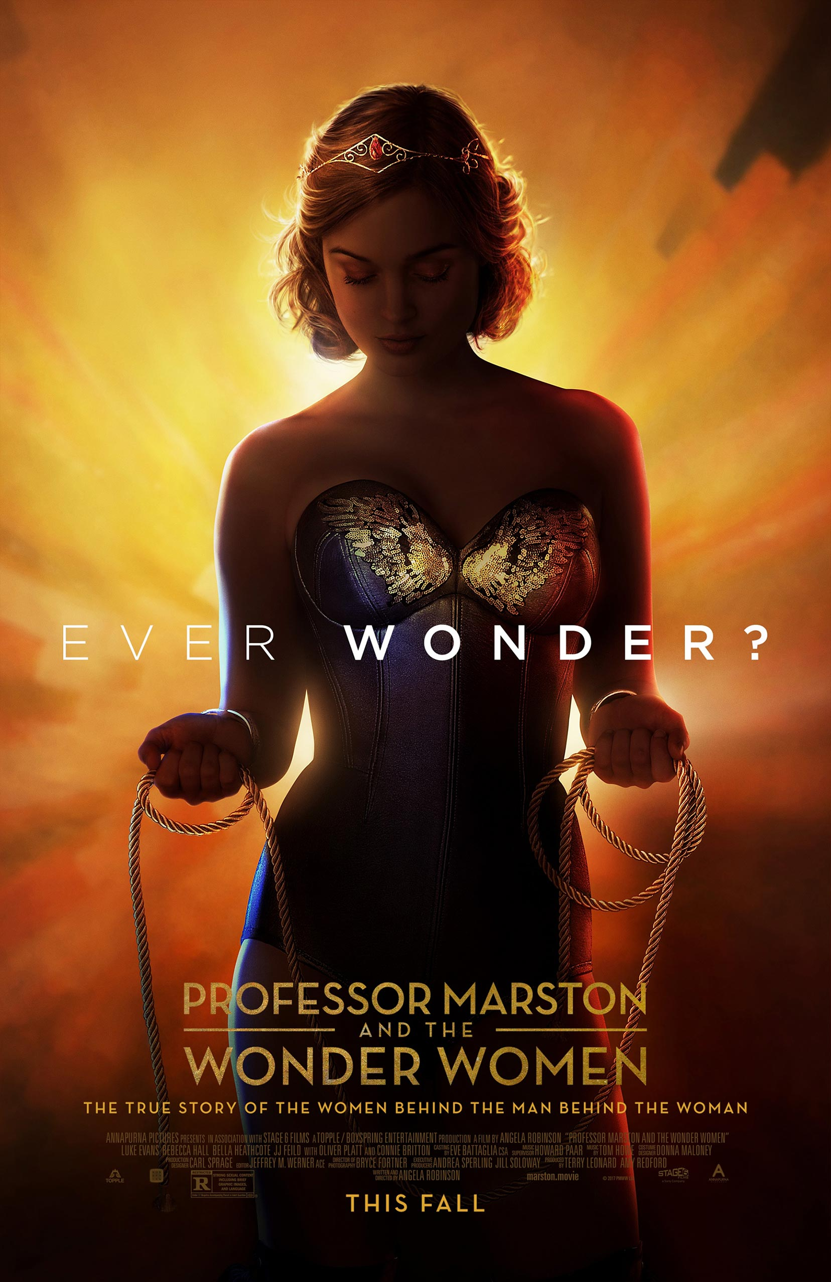 Professor Marston & the Wonder Women Poster #1
