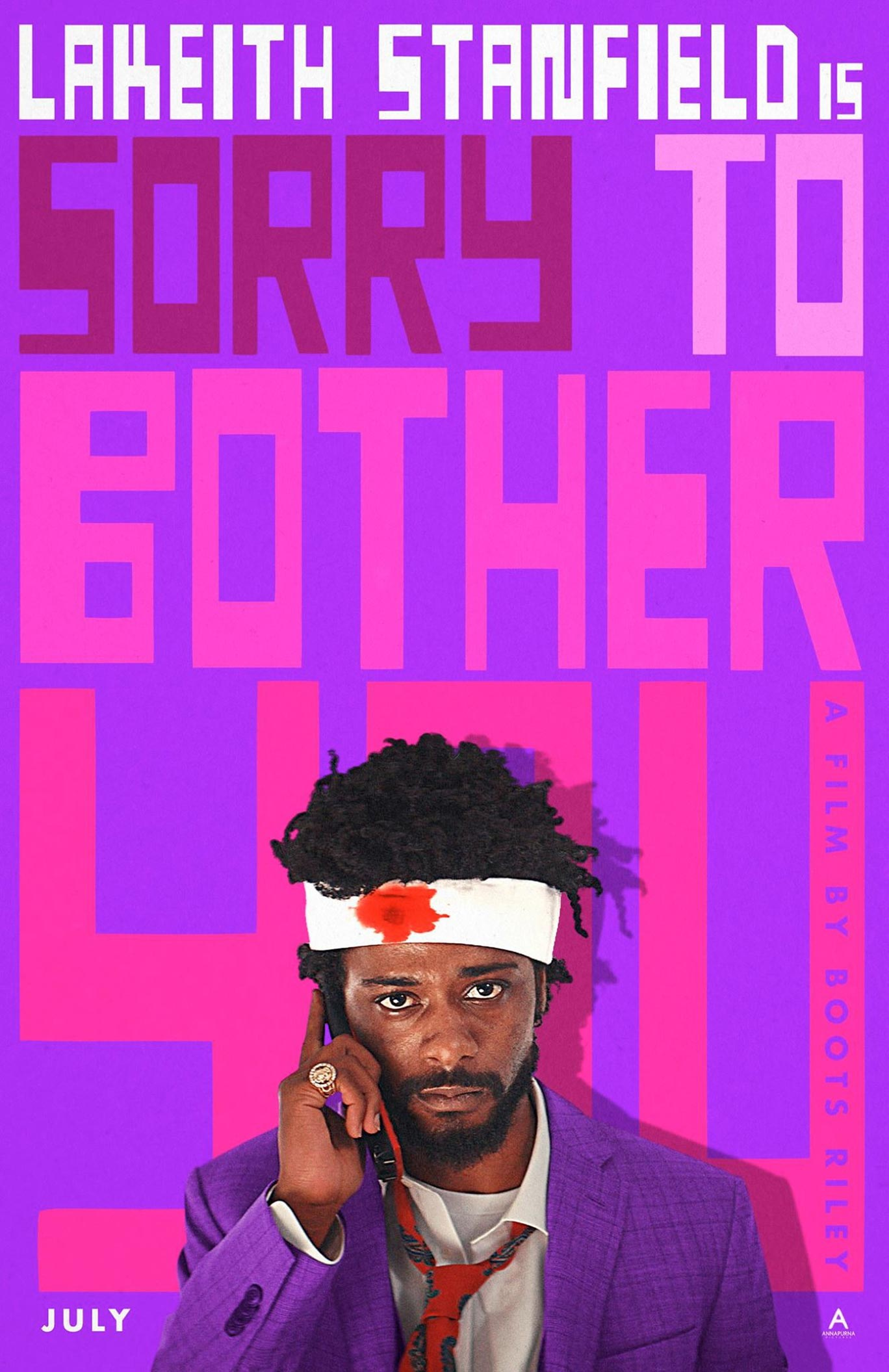 Sorry to Bother You Poster #6